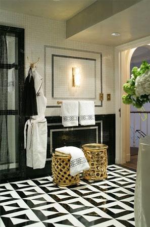 Black U0026 White Marble Floor