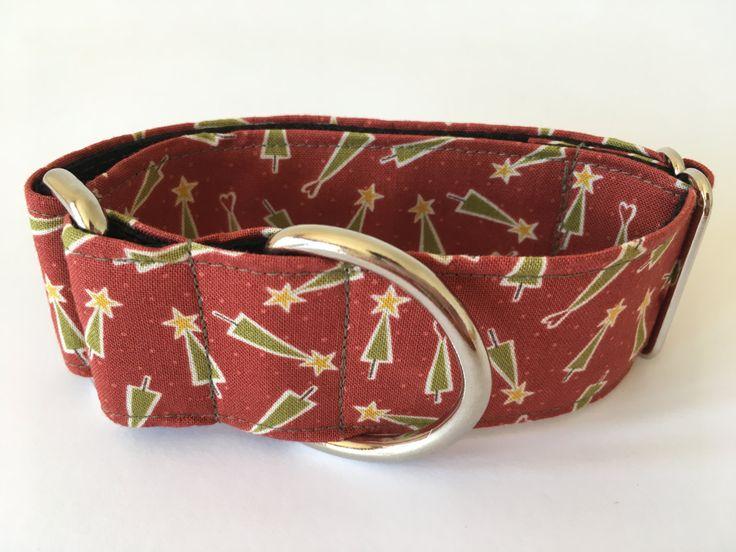 Collar perro Hometown Holiday, Collar martingale, Collar galgo, Martingale dog collar, Collares para perros, Correa perro, Navidad, Spain de 4GUAUS en Etsy