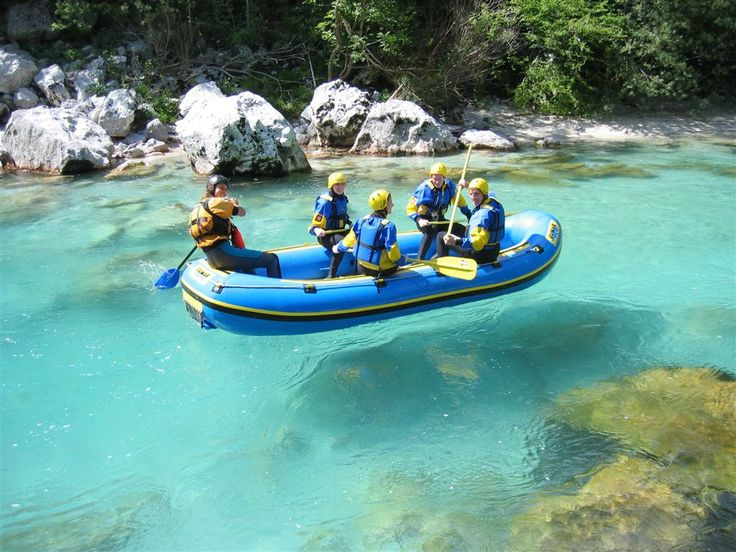 **Emerald River Adventure (hiking, rafting, waterfall and scenic drive back on a train) - Bled, Slovenia