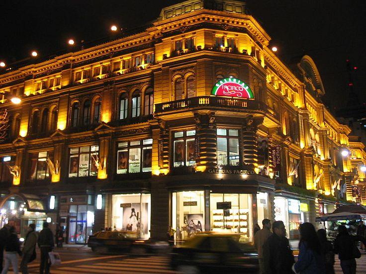 Buenos Aires, Argentina - Galerías Pacífico, Barrio Recoleta - Great shopping!
