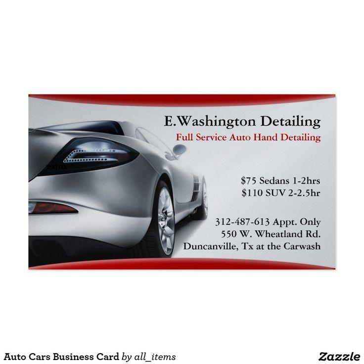 Custom Car Business Card | Custom cars, Business cards and Business