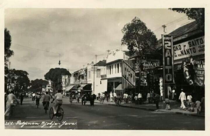 Kawasan Pecinan di Yogyakarta, 1939  (C) KITLV