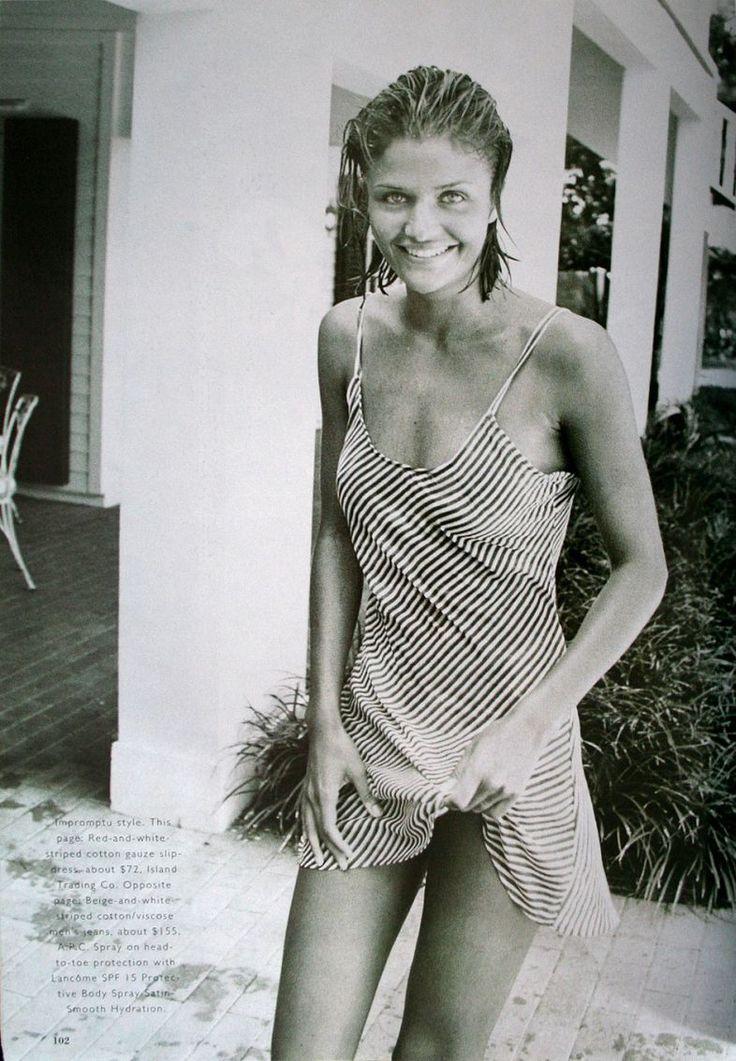 Helena Christensen by Peter Lindbergh, 1994