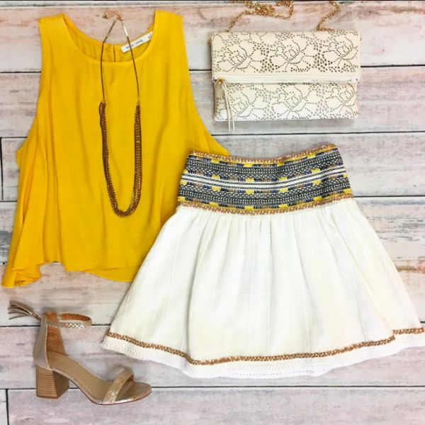 17 Best Ideas About Yellow Top Outfits On Pinterest