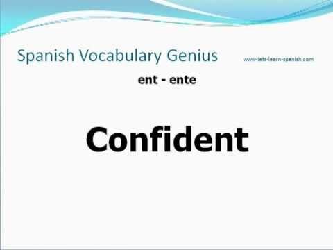 2000 Spanish Words - Easy Spanish Vocabulary - Spanish Lessons (+playlist)