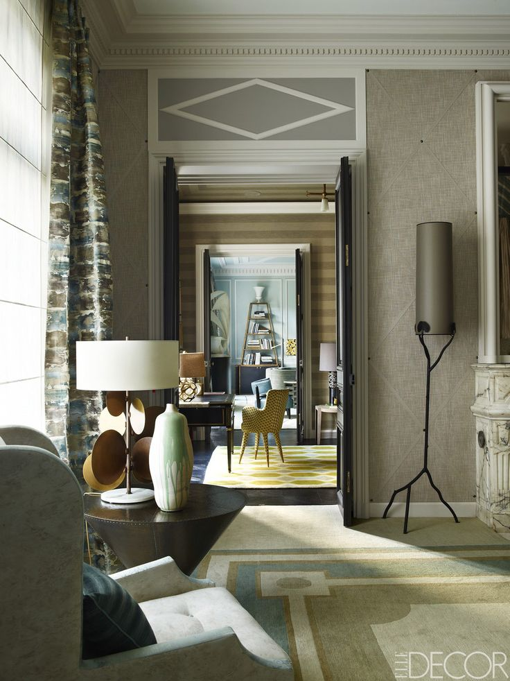 A View Of The Enfilade From The Master Bedroom To The Living Room