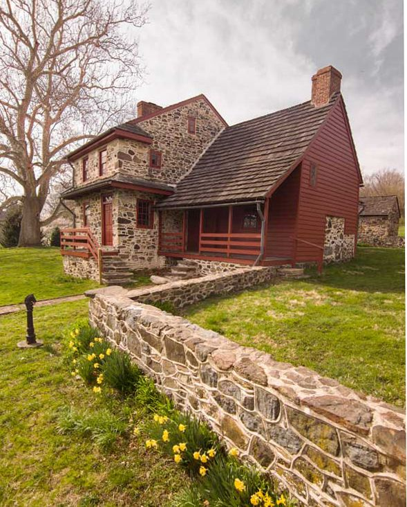 82 best images about pennsylvania stone houses on for Old american houses