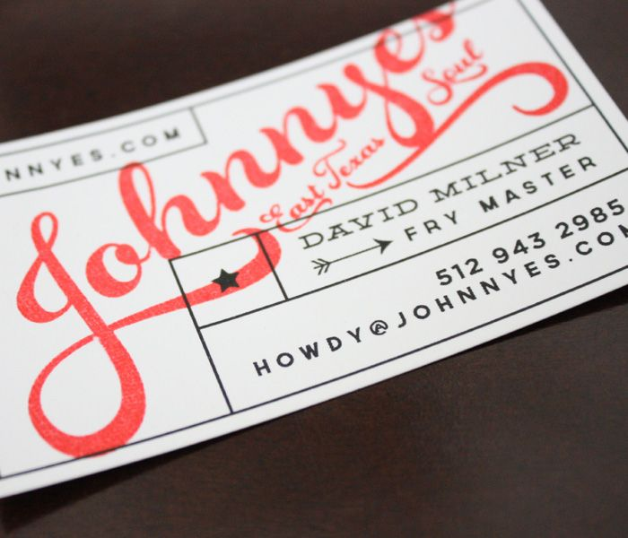 52 best branding business card designs images on pinterest business card for johnnyes east texas soul food trailer reheart Images