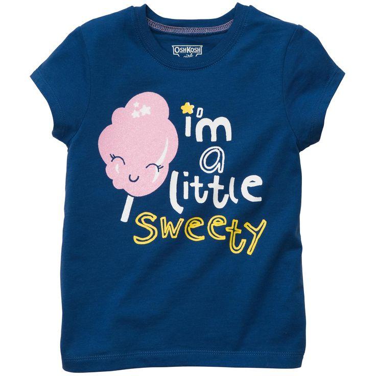 Short Sleeve Graphic Tee | Baby Girl Tops & Bodysuits