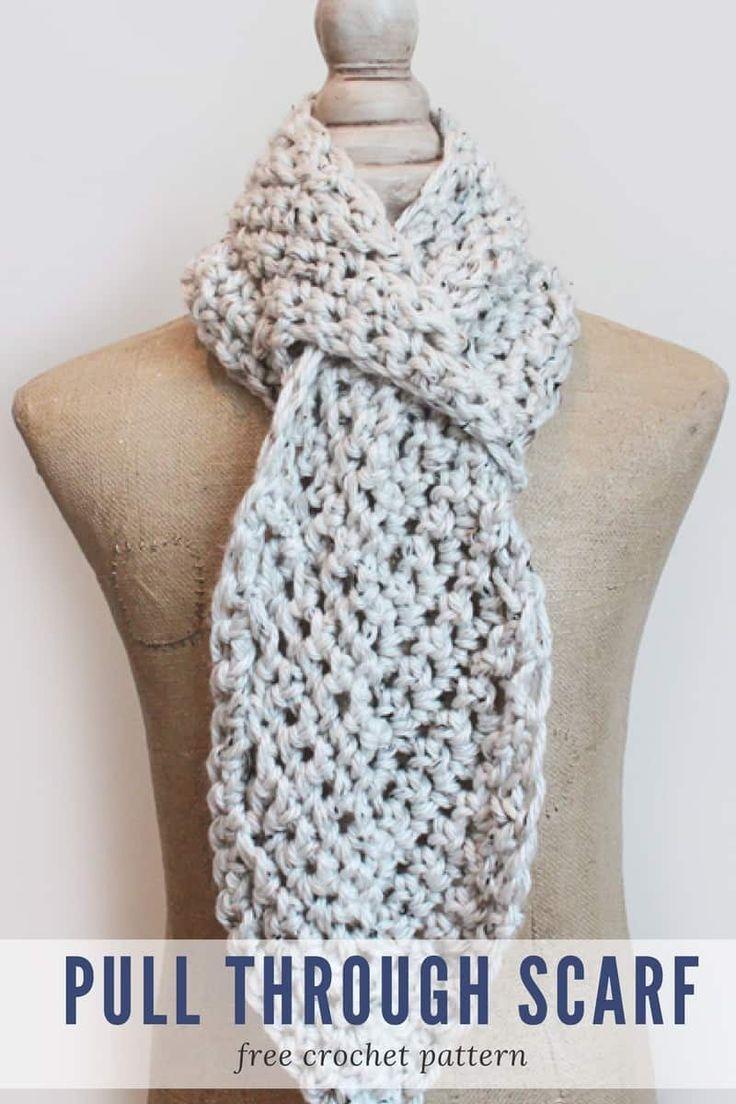 Adjustable Scarf Crochet Pattern - Make Last Minute Crochet Christmas Gifts in a Weekend! .rescuedpawdesigns.com  sc 1 st  Pinterest & Make Crochet Christmas Gifts in a Weekend | All Free Crochet ...