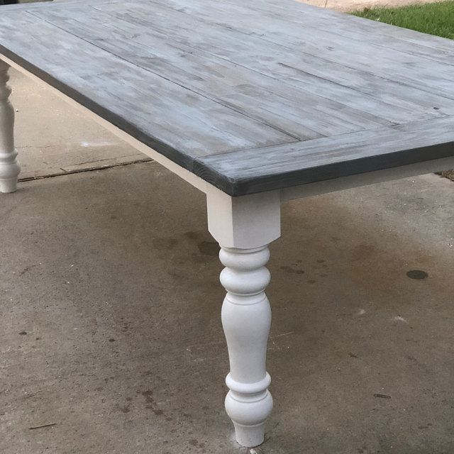 Chunky Maple Unfinished Farmhouse Dining Table Legs Set Of 4 Made In Nc 5 X 5 X 29 In 2020 Farmhouse Dining Table Dining Table Farmhouse Dining
