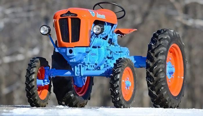 Raging Bull: Lamborghini 1R Tractor - http://barnfinds.com/raging-bull-lamborghini-1r-tractor/