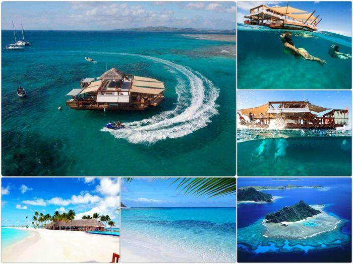 auf den Fidschi Inseln Urlaub machen