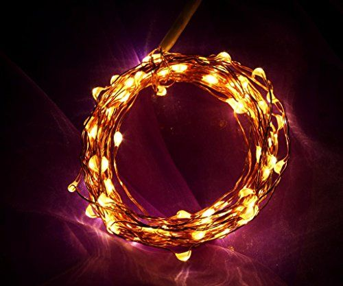 bedroom heart string lights eruner 21ft led flexible copper wire string light - Valentine String Lights