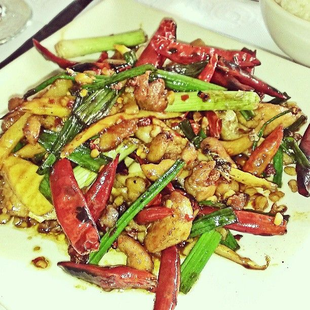 5 spices chicken from Grand Sichuan. Photo by likeabite