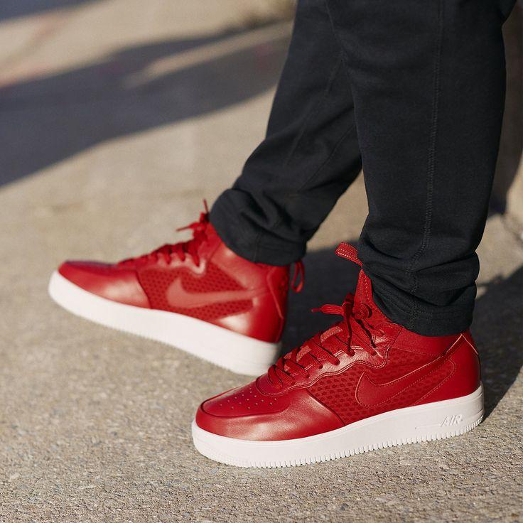 "Nike Air Force 1 Ultra Mid ""Gym Red/White"" - EU Kicks Sneaker"