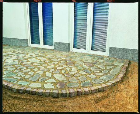 Terrasse: Naturstein verlegen