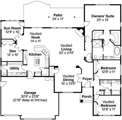 52 Best House Plans Images On Pinterest Home Plans Home