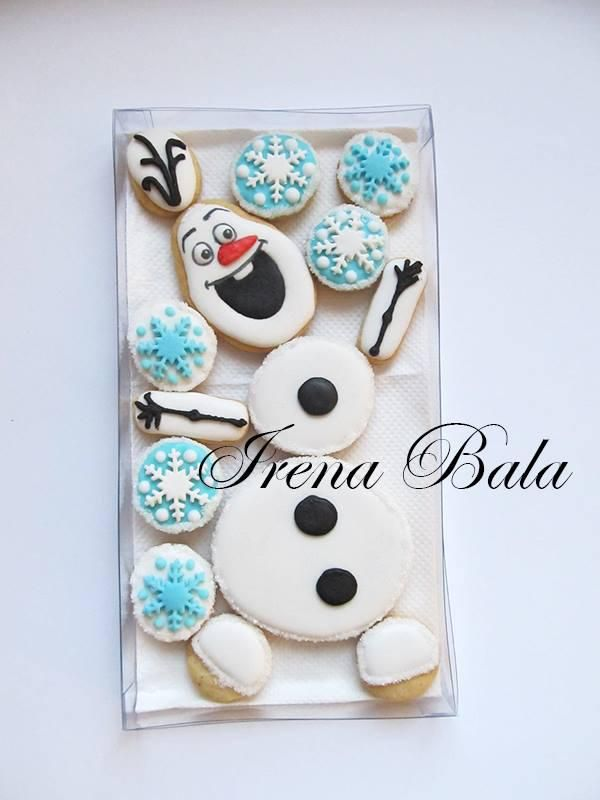 olaf puzzle cookies,olaf slagalica | Cookie Connection