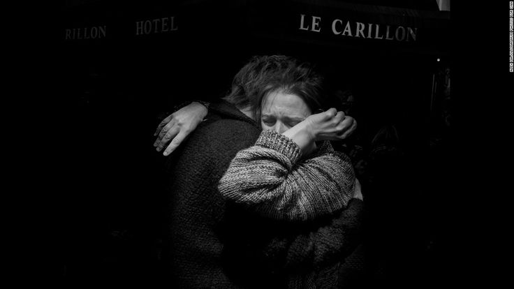 Tras ataques terroristas en París. Majoli