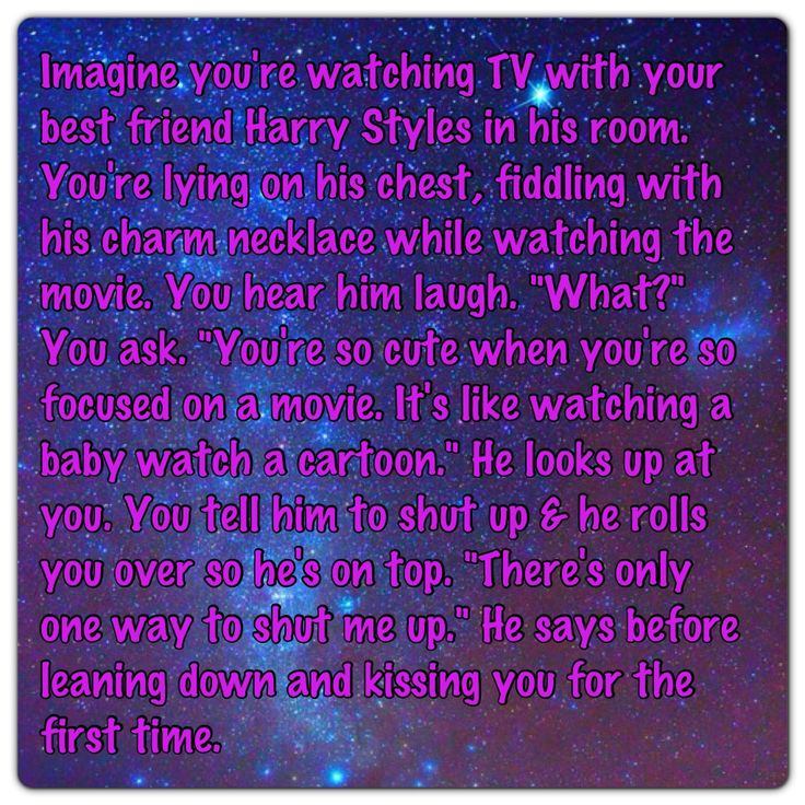 Imagine watching TV with Harry Styles ♥