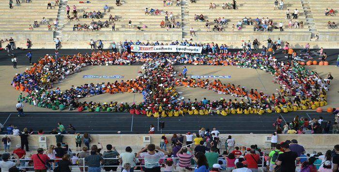 Συμμετοχή του Γ.Σ. Χαλανδρίου στο 2ο Mini Volley Festival 2015    Με ιδιαίτερη επιτυχία πραγματοποιήθηκε το 2ο Mini Volley Festival που     διοργάνωσε η Ε.Ο.ΠΕ. στο ιστορικό Καλλιμάρμαρο Στάδιο, το Σάββατο     16 Μαϊου.  Με τη συμμετοχή περίπου 1500 παιδιών από διάφορα σωματεία