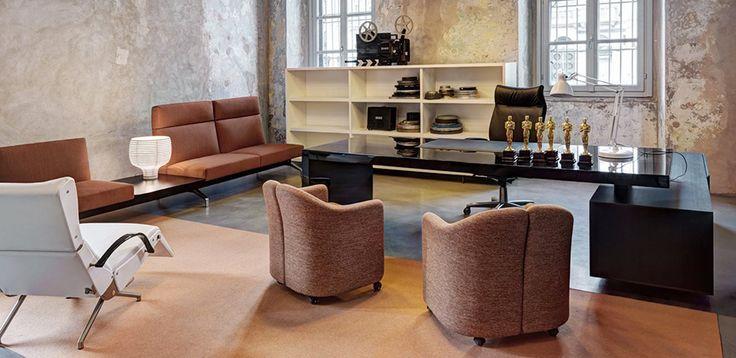 12 best Le mobilier de bureau italien et les meubles design italien