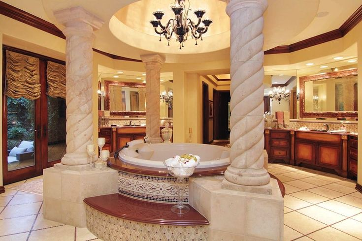 23 grand colonial drive the woodlands texas united for Master bathroom mansion
