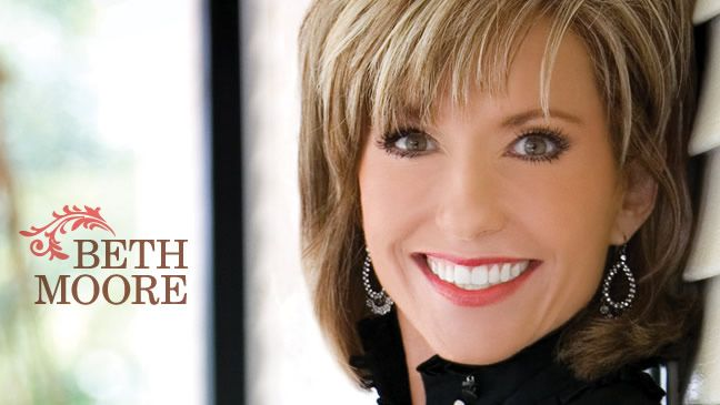 Beth Moore, her books, her Bible Studies... are awesome!!