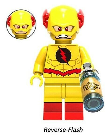 The Flash Cyborg Reverse-Flash Lex Luthor Lobo Firestorm Batman Cheetah Marvel