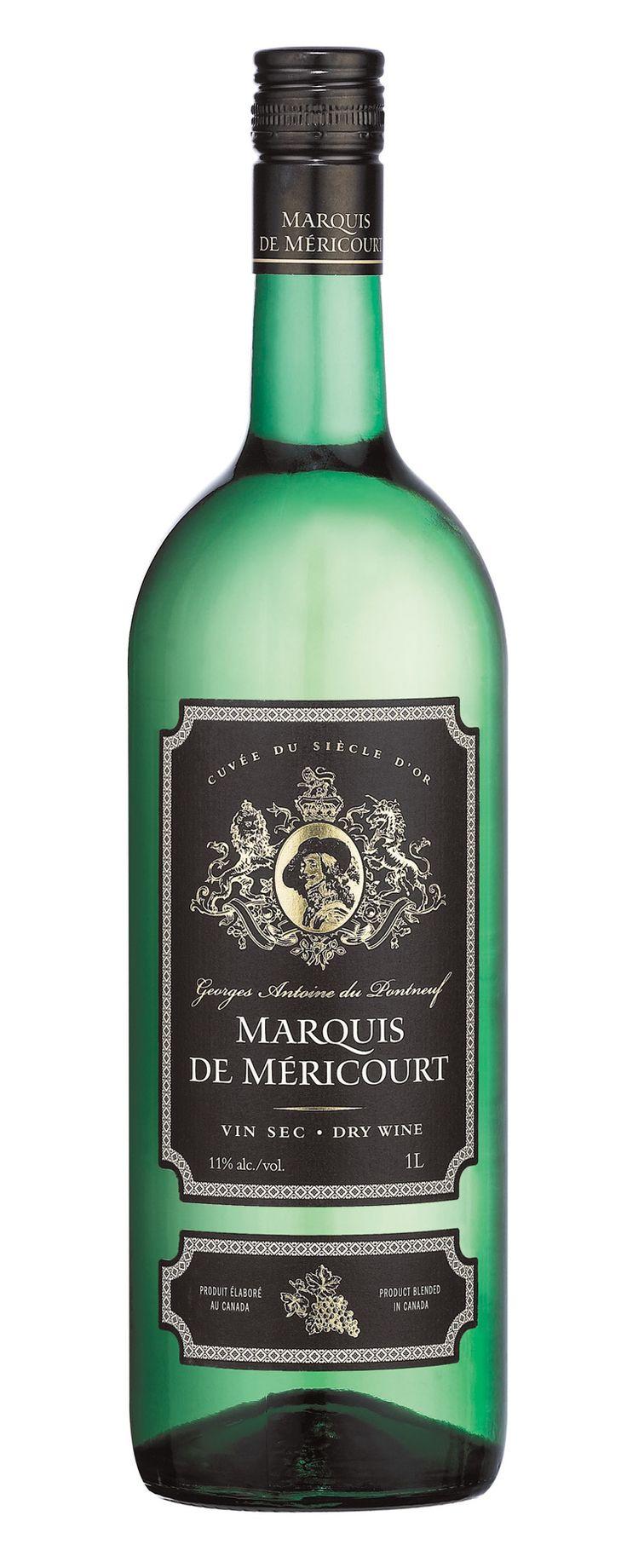 MARQUIS DE MÉRICOURT - La noblesse blanche de nos marchés! Un vin blanc dont sa robe est brillante, épanoui et doré. On retrouve de beaux arômes fruités et secs. En bouche il a beaucoup de souplesse et de fraîcheur. Un demi-sec à la texture plutôt souple que grasse. La température de service se situe entre 6°C &: 8°C / Degré d'alcool 11,0 %