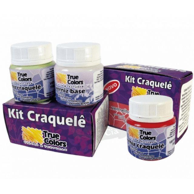 Veja nosso novo produto Kit Craquelê 2 x 55 ml - True Colors! Se gostar, pode nos ajudar pinando-o em algum de seus painéis :)
