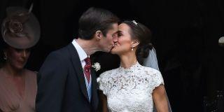 pippa middleton wedding kiss