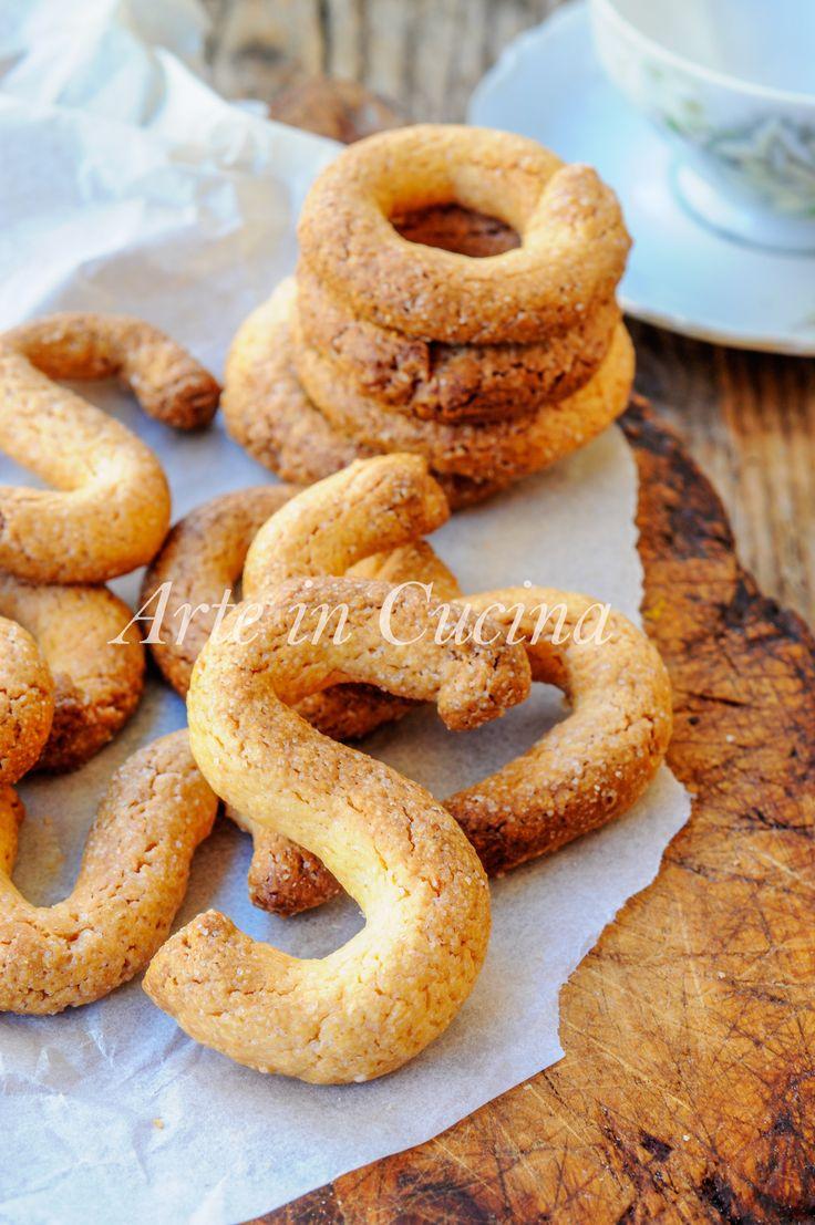 Bussolai o esse buranelli biscotti con tuorli vickyart arte in cucina