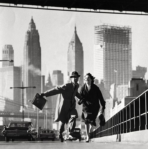Norman Parkinson, New York, New York East River, Drive GO Magazine early 1960s