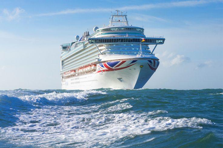 The @pandocruises ship Azura  #pocruises #azura #cruise #ship