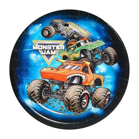 Free Shipping. Buy Monster Jam Party Supplies - Dessert Plate (48), Package includes (48) dessert plates to match your party theme. Each paper plate measures approximately 7 in diameter. By BirthdayExpress at Walmart.com