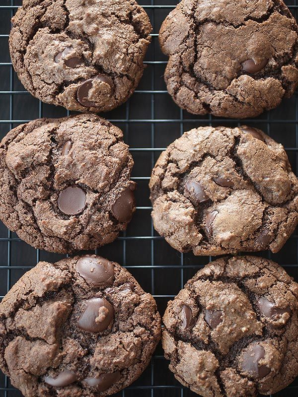 Mexican hot chocolate cookies with a secret ingredient!