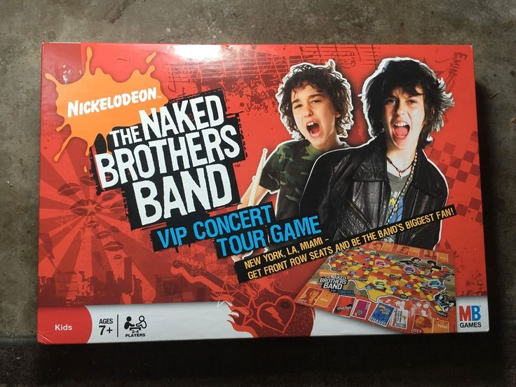 Naked Brothers Band VIP Concert Tour Complete Board Game Habro 2008