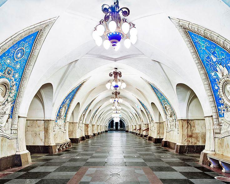 17 stations de métro en Russie qui vont vous subjuguer par leur beauté démesurée | SooCurious