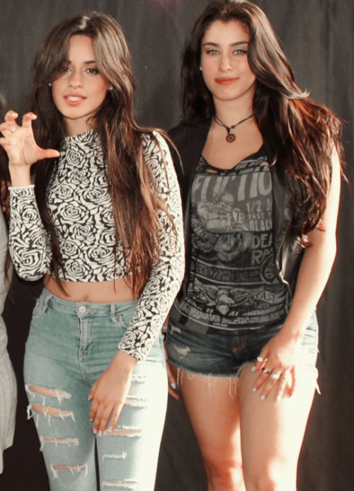 Camila and Lauren at the M&G - Hershey 8/26