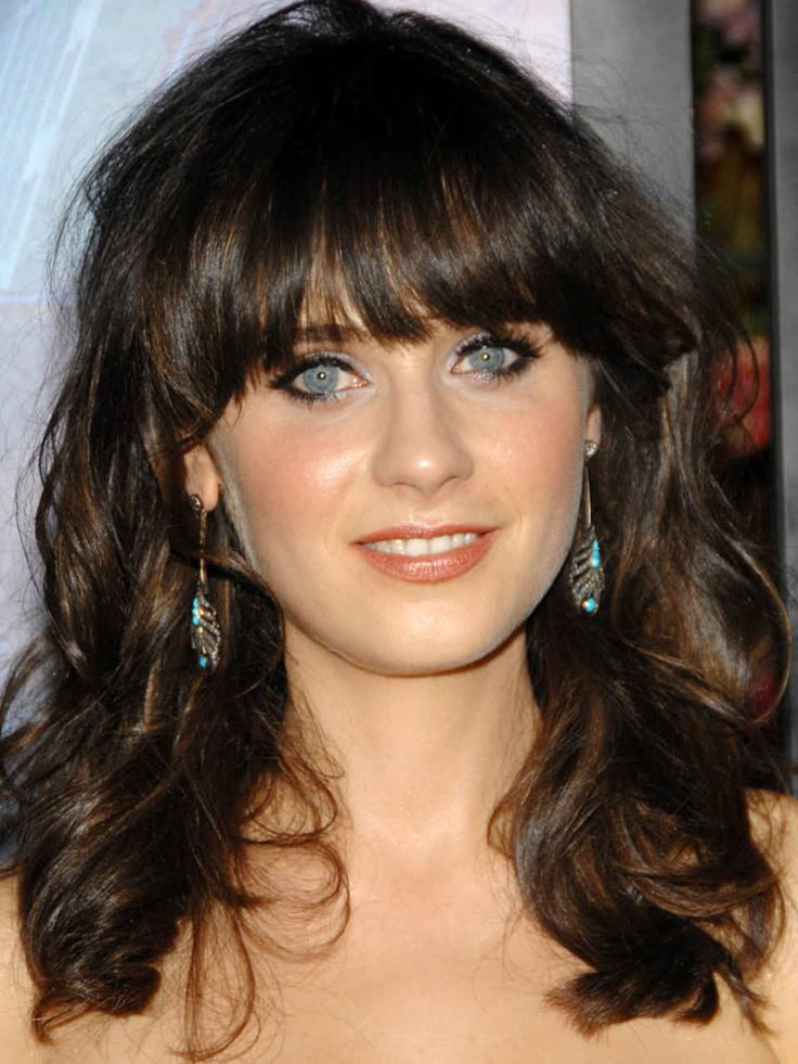 Zooey Deschanel at the 2008 premiere of 'The Happening.'