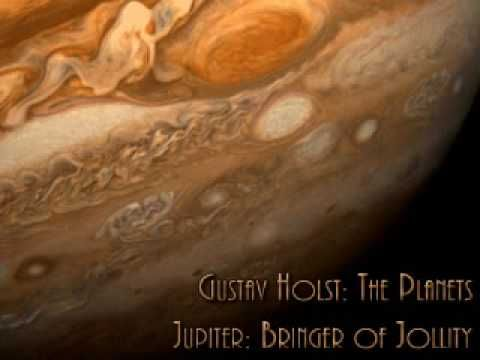 "Holst, ""The Planets - Jupiter,"" the Bringer of Jollity. James Levine conducting the Chicago Symphony Orchestra."