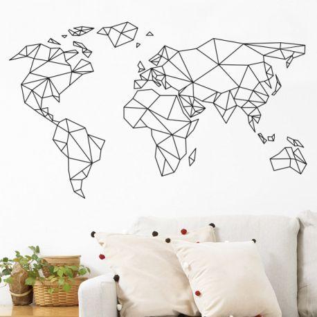 les 25 meilleures id es de la cat gorie carte murale du monde sur pinterest carte du monde. Black Bedroom Furniture Sets. Home Design Ideas