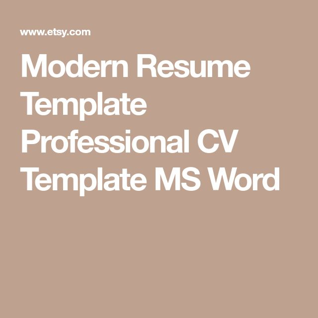 Mer enn 25 bra ideer om Simple cv template på Pinterest Resymé - resume template ms word