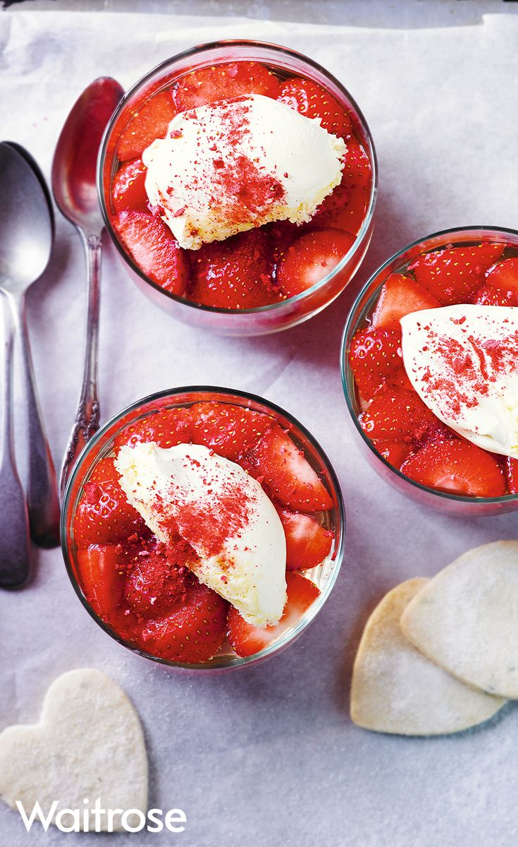 Enjoy these strawberry and elderflower jellies for Wimbledon this year. Find the recipe on the Waitrose website.