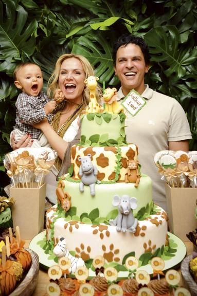 CARAS - Bebê - Aniversários dos filhos de Angélica e Eliana inspiram decoração de festas infantis