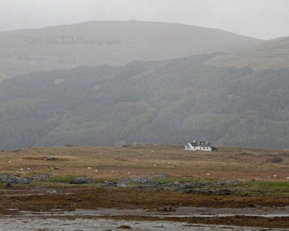 An isolated cottage on the Isle of Mull  -- One day