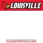 Louisville Cardinals Banner 8' x 2'