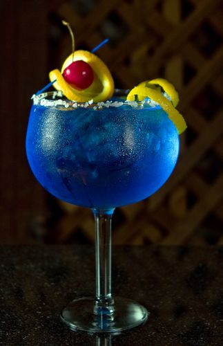 Blue Cocktail Drinks   Margarita Cocktail Recipe Collection